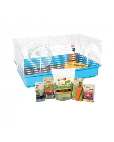 Living World | Cage équipée pour hamster
