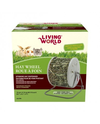 Living World | Distributeur de foin pivotant