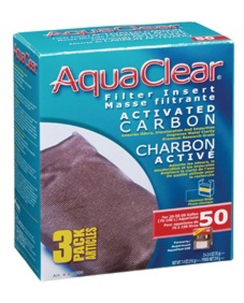 Aqua Clear | Masse filtrante de charbon activé 50 pour aquarium de 76 à 190 litres