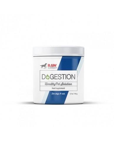 Raw Support | D+gestion - Probiotiques naturels pour chien & chat / 105g