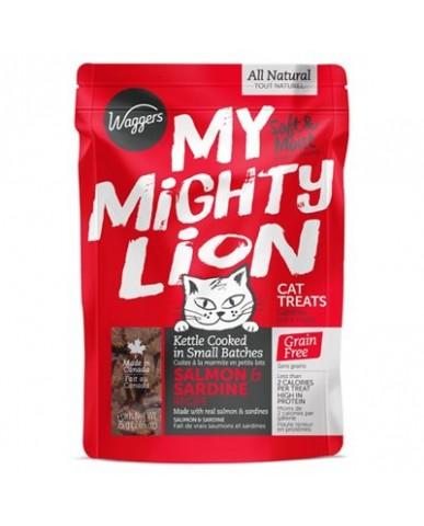 Waggers | My mighty lion - saumon & sardine