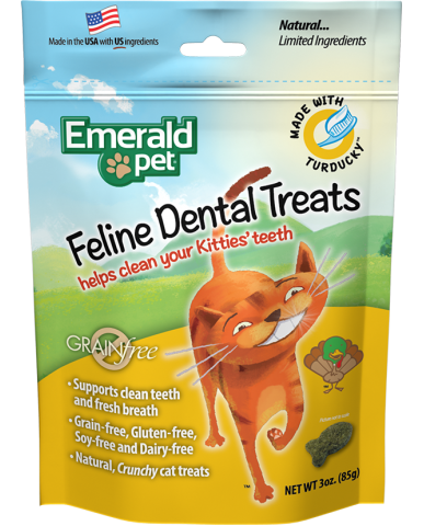 EMERALD PET | Gâterie dentaire pour chat / 85g