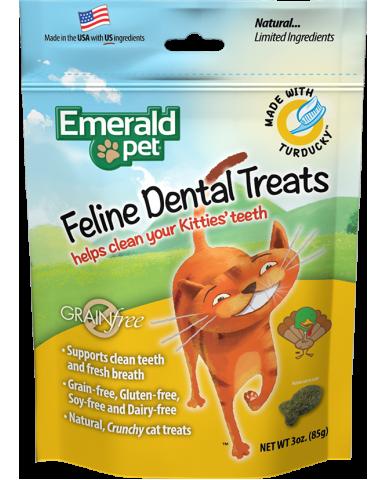 EMERALD PET | Gâterie dentaire pour chat / 85g