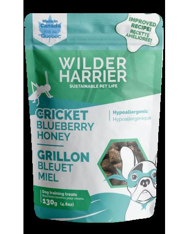 WILDER HARRIER | Bouchée d'entraînement aux grillons - Miel & bleuet / 130g