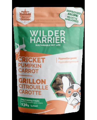 WILDER HARRIER   Bouchée d'entraînement aux grillons - Citrouille & carotte / 130g