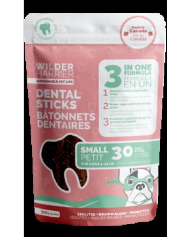 WILDER HARRIER   Bâtonnet dentaire 3 en 1 pour chien - petit / 300g