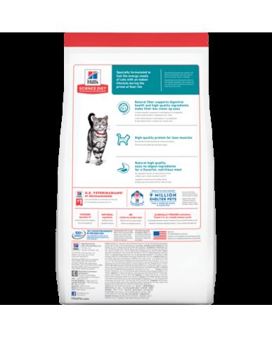 HILL'S | Science diet | Nourriture pour chat d'intérieur - 1 à 6 ans / 3.5 lbs