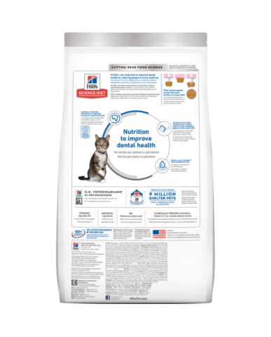 HILL'S | Science diet | Nourriture pour chat adulte - soins dentaires / 3.5 lbs