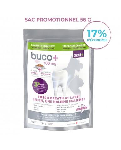 BACI+ | Soin dentaire pour chat & petit chien bucco+ / 56g