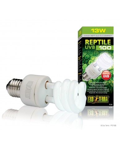 Exo Terra | Ampoule UVB pour terrarium de climat tropical