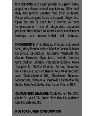 Pangea | Nourriture pour gecko à crête - croissance & reproduction / 2 oz (56g)