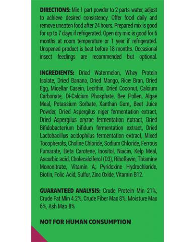 Pangea | Nourriture pour gecko - Melon d'eau / 2 oz (56g)