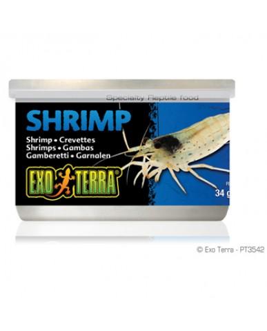 EXO TERRA | Crevettes pour reptile / 34g