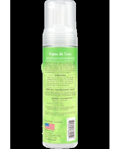 TROPICLEAN | Shampooing sans rinçage pour chat - eau de coco / 220 ml