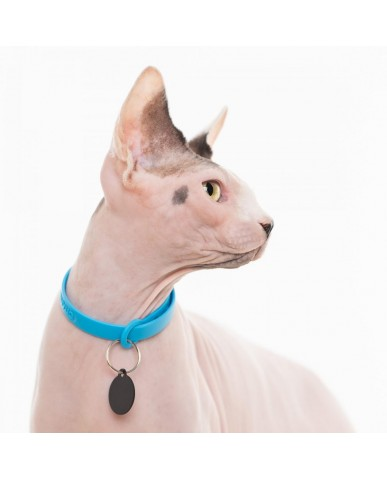 "NUVUQ | Collier pour chat ajustable ""Safe release"" - imperméable"