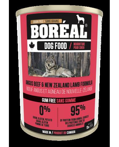 BORÉAL | Nourriture pour chien en conserve - boeuf angus & agneau / 369g (13 oz)