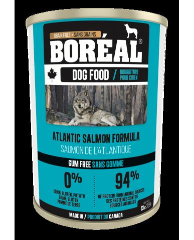 BORÉAL | Nourriture pour chien en conserve - saumon de l'atlantique / 369g (13 oz)