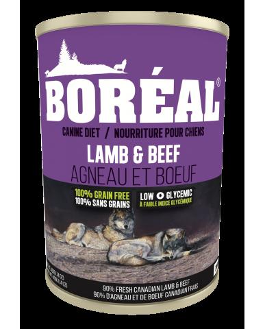 BORÉAL | Nourriture pour chien en conserve - agneau & boeuf / 690g (24 oz)