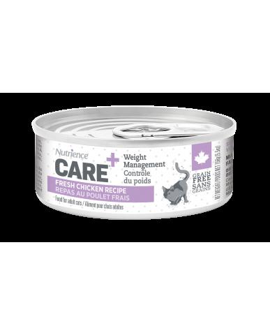 NUTRIENCE CARE - nourriture pour chat en conserve - Contrôle du poids / 156g (5.5 oz)