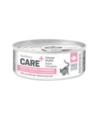NUTRIENCE CARE - nourriture pour chat en conserve - soins urinaires  / 156g (5.5 oz)