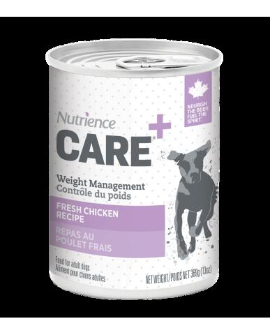 NUTRIENCE CARE | Nourriture pour chien en conserve - contrôle du poids / 369g (13 oz)