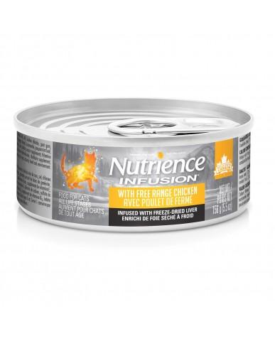 Nutrience infusion - Nourriture pour chat en conserve - poulet de ferme / 156g