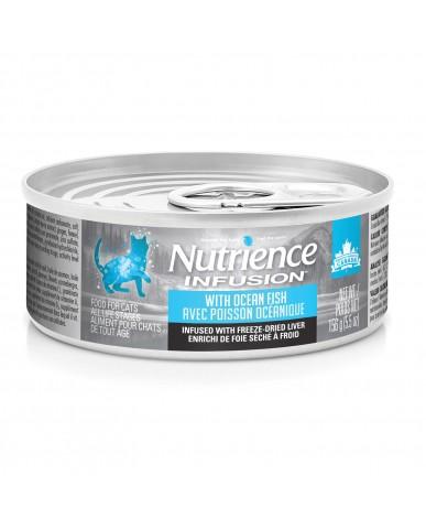 Nutrience infusion | Nourriture pour chat en conserve - poisson océanique / 156g