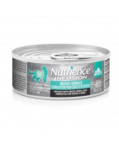 Nutrience infusion - Nourriture pour chat d'intérieur en conserve / 156g