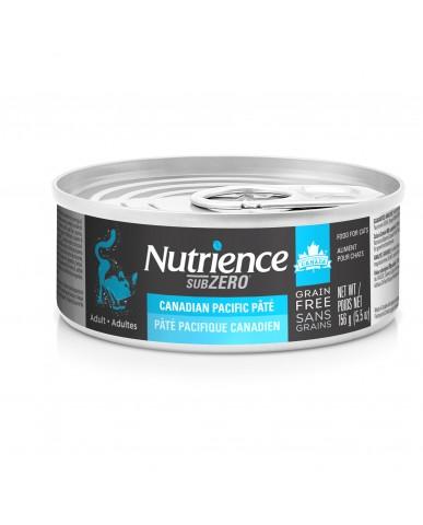 NUTRIENCE SUBZERO - Nourriture pour chat en conserve - pacifique canadien / 156g