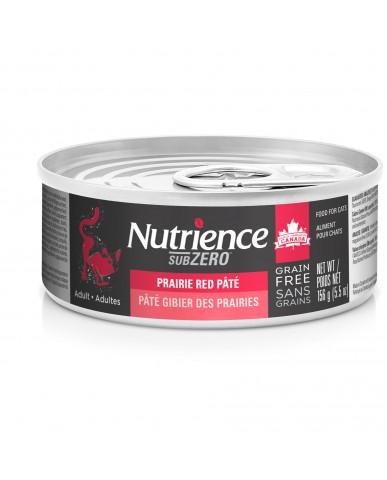 NUTRIENCE SUBZERO - Nourriture pour chat en conserve - gibier des prairies / 156g
