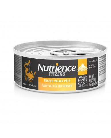 NUTRIENCE SUBZERO - Nourriture pour chat en conserve - Vallée du fraser / 156g