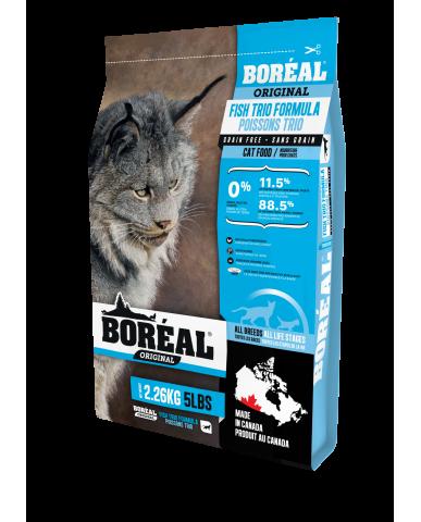 BORÉAL ORIGINAL | nourriture pour chat - trio de poissons / 2.26 kg (5 lbs)
