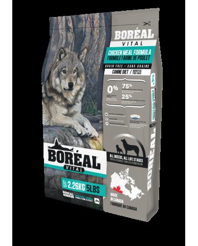 BORÉAL VITAL | nourriture pour chien - Farine de poulet / 2.27 kg (5 lbs)