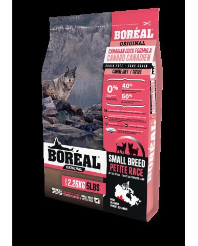 BORÉAL ORIGINAL | nourriture pour chien petit race - canard / 2.26 kg (5 lbs)