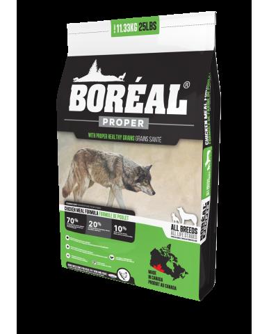 BORÉAL PROPER | Nourriture pour chien avec céréales faibles en glucides - poulet / 2.27 kg (5 lbs)