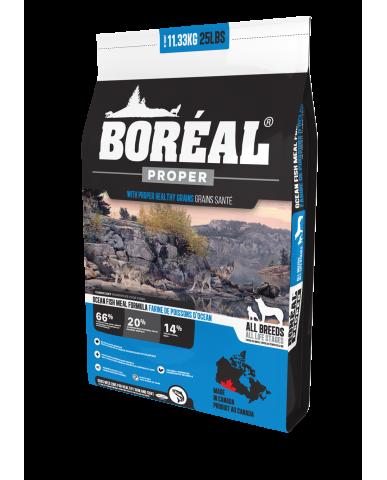 BORÉAL PROPER | Nourriture pour chien avec céréales faibles en glucides - poisson marin / 2.27 kg (5 lbs)