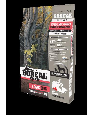 BORÉAL VITAL | nourriture pour chien - Farine de viande rouge / 2.27 kg (5 lbs)