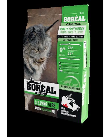 BORÉAL ORIGINAL | nourriture pour chat - dinde & truite / 2.26 kg (5 lbs)