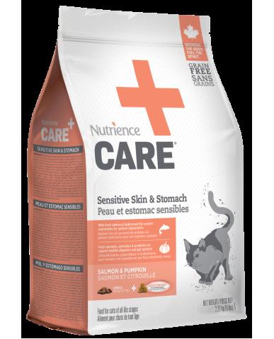 NUTRIENCE CARE - Nourriture pour chat - Peau et estomac sensibles / 2.27 Kg (5 lbs)
