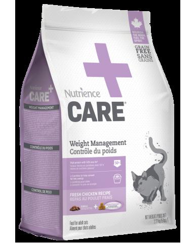 NUTRIENCE CARE - Nourriture pour chat - contrôle du poids / 2.27 Kg (5 lbs)