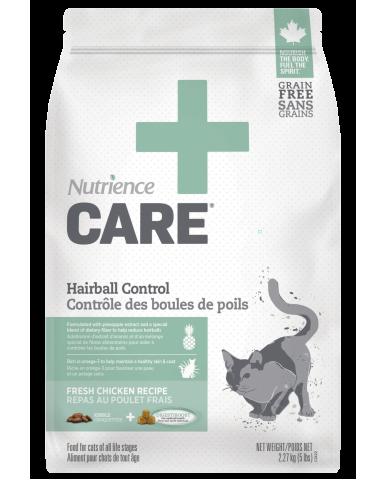 NUTRIENCE CARE | Nourriture pour chat - contrôle des boules de poils / 2.27 Kg (5 lbs)