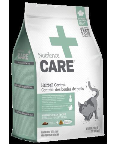 NUTRIENCE CARE - Nourriture pour chat - contrôle des boules de poils / 2.27 Kg (5 lbs)