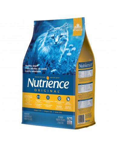 Nutrience original | Nourriture pour chat adulte - poulet & riz brun / 2.5 kg (5.5 lbs)