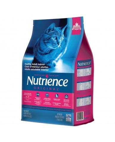 nutrience original | Nourriture pour chat adulte d'intérieur - Poulet & riz brun / 2.5 kg (5.5 lbs)