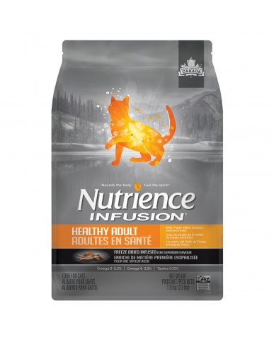 Nutrience infusion | Nourriture pour chat adulte - poulet