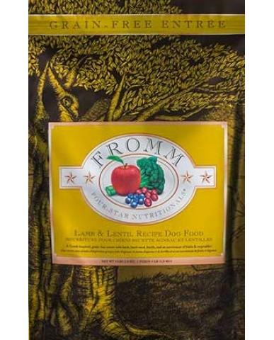 FROMM | Four-star - Nourriture pour chien - Agneau & lentille / 1.8 kg (4 lb)
