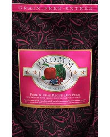 FROMM | Four-star - Nourriture pour chien - Porc & petits pois / 1.8 kg (4 lb)