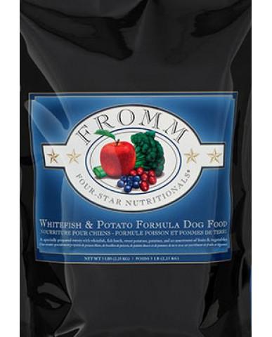FROMM | Four-star - Nourriture pour chien - Poisson blanc & pomme de terre / 2.27 KG (5 LB)