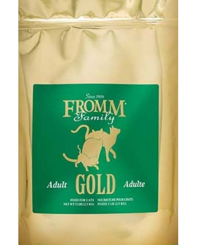 FROMM | Gold - Nourriture pour chat adulte - Canard / 2.27 kg (5 lbs)