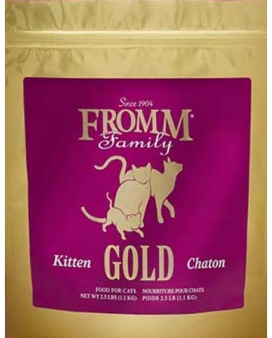 FROMM | Gold - Nourriture pour chaton - Canard / 1.1 kg (2.5 lbs)